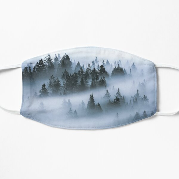 Fog Drifting Through Pines Mask