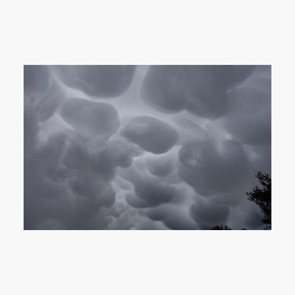 Mammatus cloud formation Photographic Print