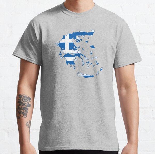 Hellenism Sign T-shirt ATHÈNES SPARTE Icône caractères Sign HELLAS Athéna Zeus ARES