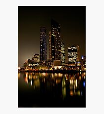 0357 Melbourne Reflections Photographic Print