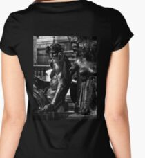 Figures in a Fountain Women's Fitted Scoop T-Shirt