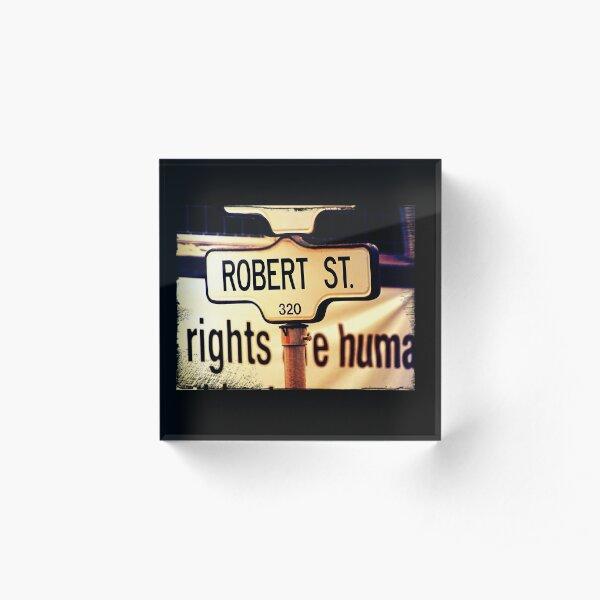 Robert  Acrylic Block