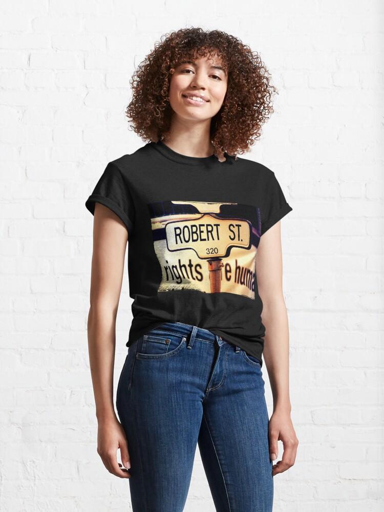 Alternate view of Robert  Classic T-Shirt