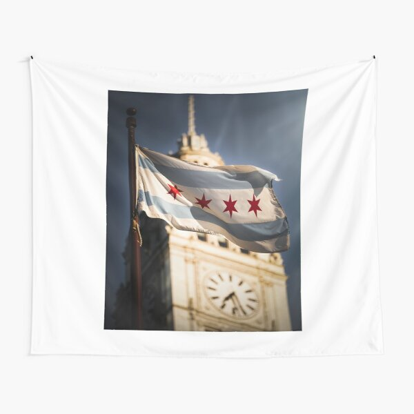 Chicago Flag Tapestry