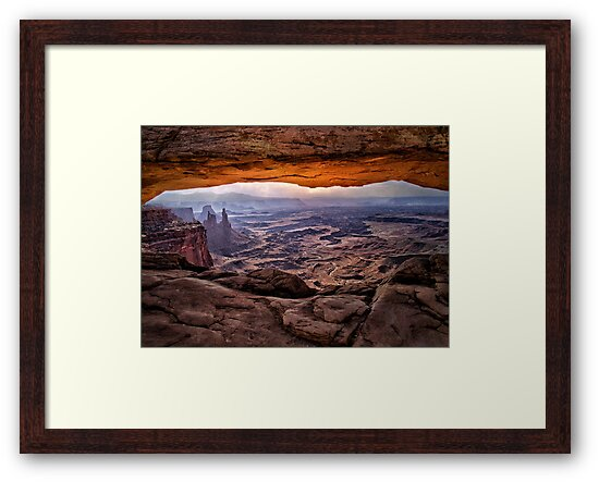Mesa Arch Sunrise - Canyonlands National Park, Utah by Kathy Weaver