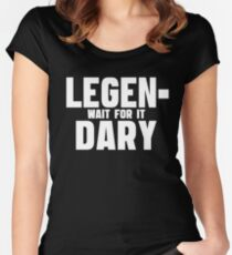 Legendary - How I Met Your Mother Women's Fitted Scoop T-Shirt