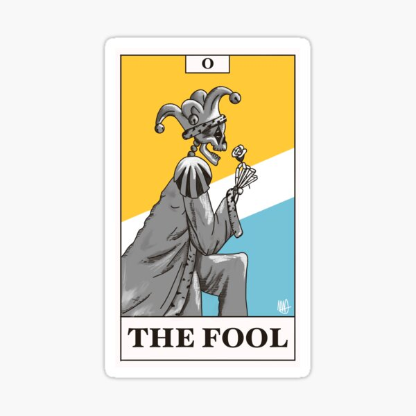 The Fool Sticker