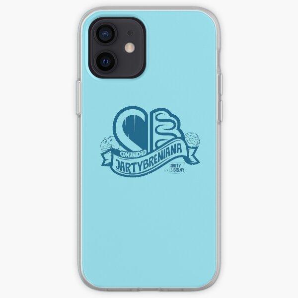 COMUNIDAD JARTYBRENIANA - AZUL Funda blanda para iPhone