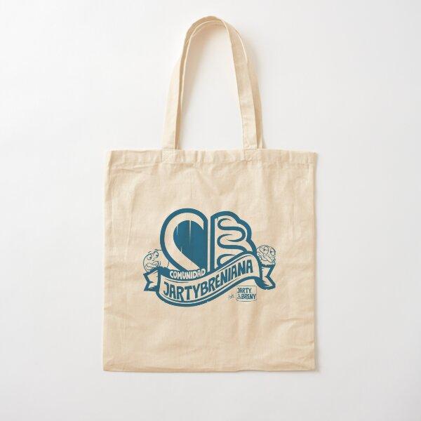 COMUNIDAD JARTYBRENIANA - AZUL Bolsa de algodón