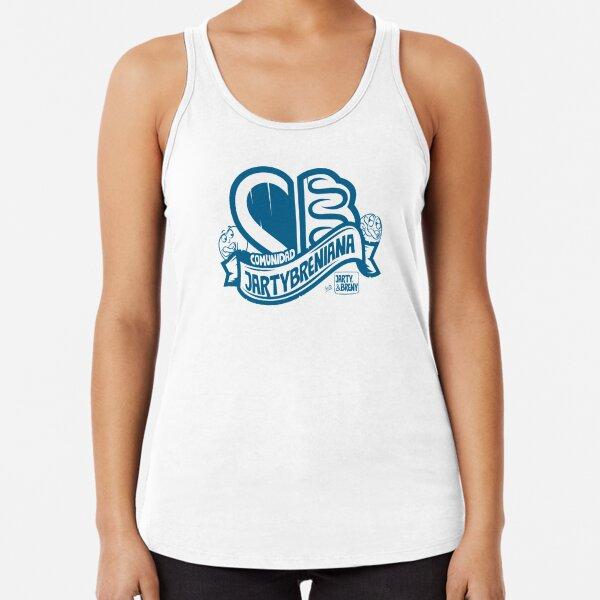 COMUNIDAD JARTYBRENIANA - AZUL Camiseta con espalda nadadora