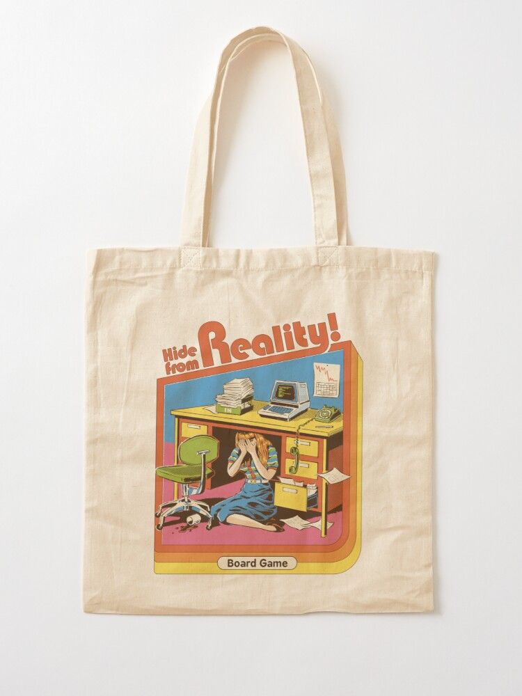 Alternate view of Hide From Reality Tote Bag