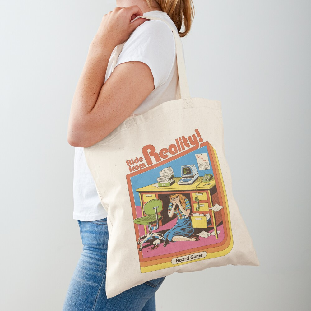 Hide From Reality Tote Bag