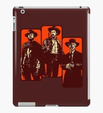 Il buono, il brutto, il cattivo iPad Case/Skin