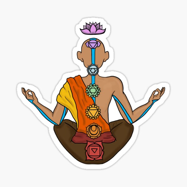 Aang's Meditation Sticker