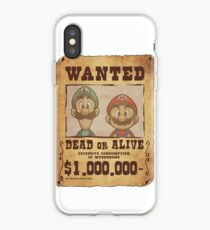 WANTED Brothers  iPhone Case