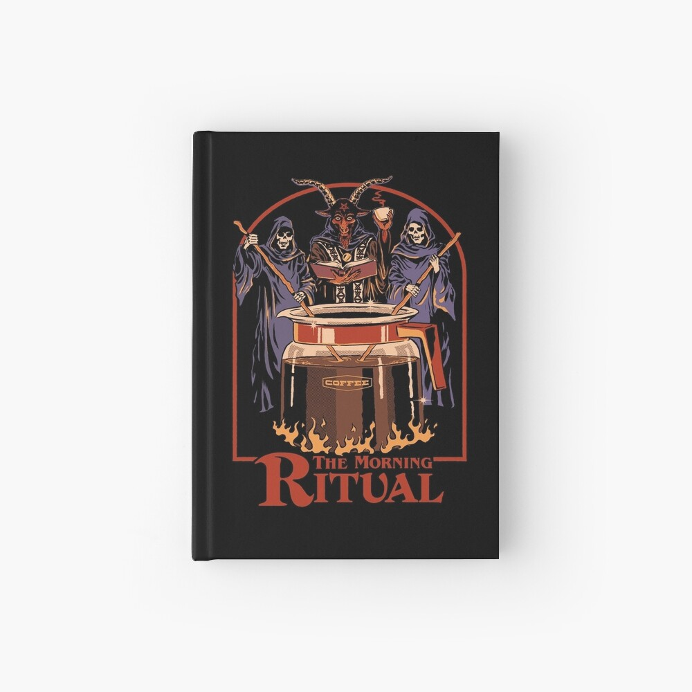 The Morning Ritual Hardcover Journal