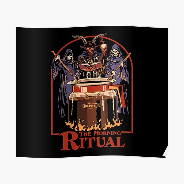 The Morning Ritual Poster
