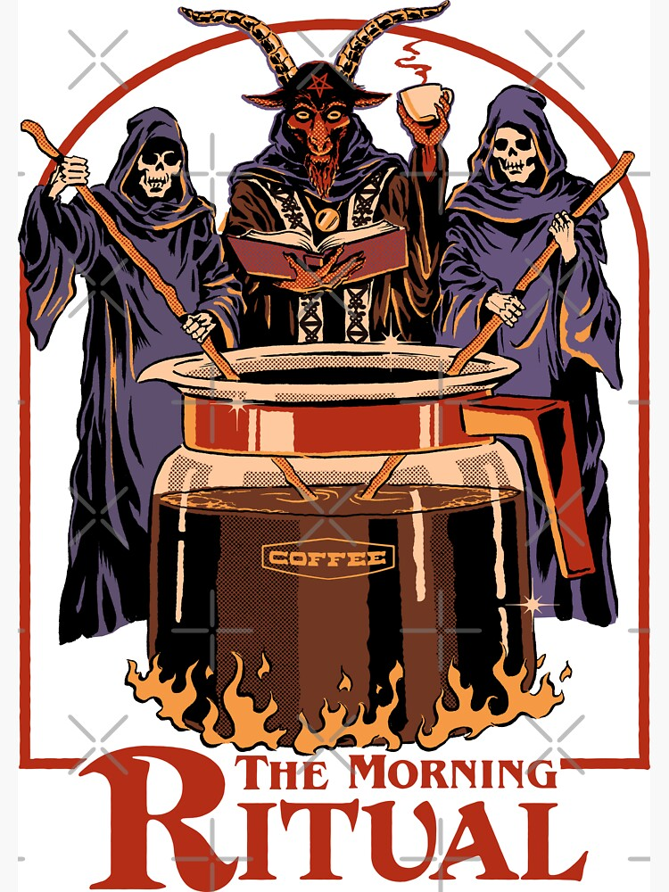 The Morning Ritual by stevenrhodes