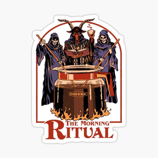 The Morning Ritual Sticker