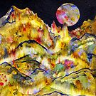 World Series C-2 Night Moon by ksgfineart