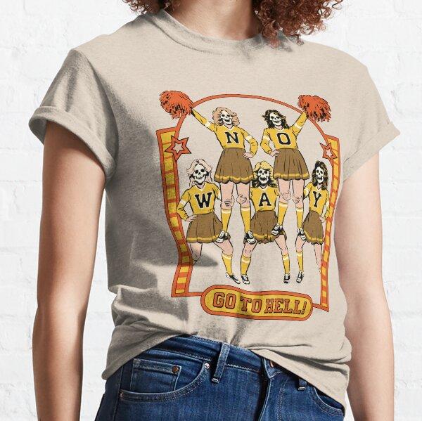 Bottes Décontractées Femmes Designer Slogan Effet Vieilli Déchiré déchiré Crop Top T-Shirt