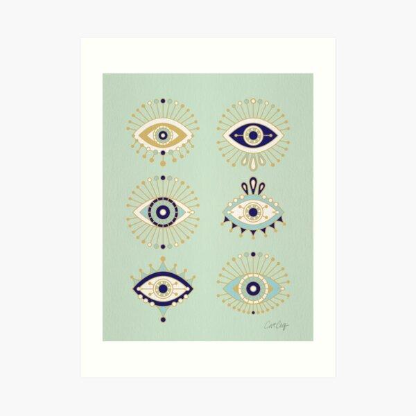 Evil Eye Collection Art Print