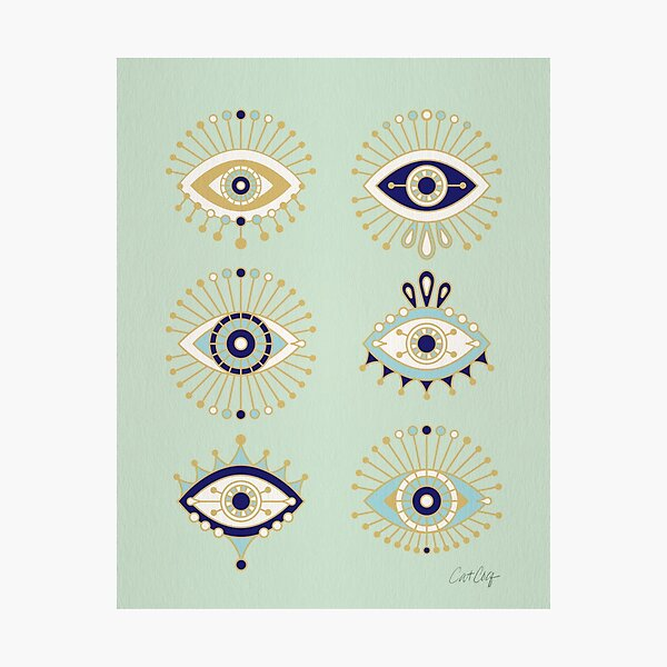 Evil Eye Collection Photographic Print
