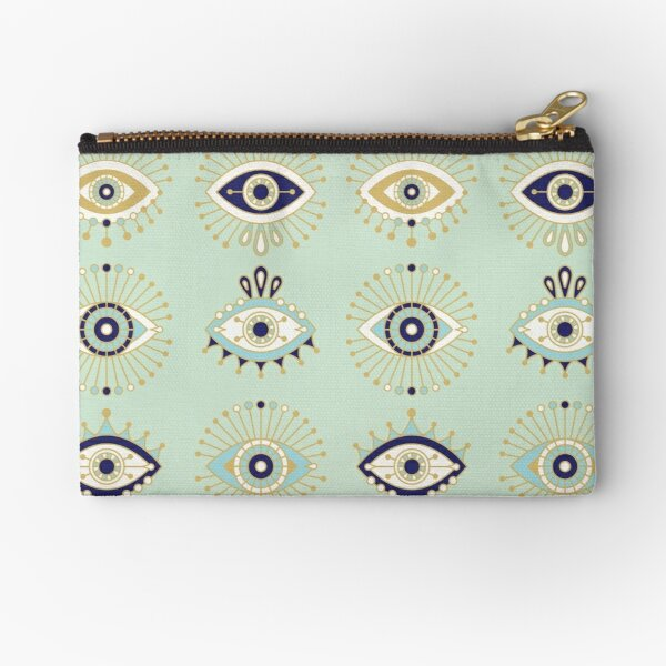 Evil Eye Collection Zipper Pouch