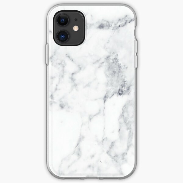 White Marble iPhone Soft Case
