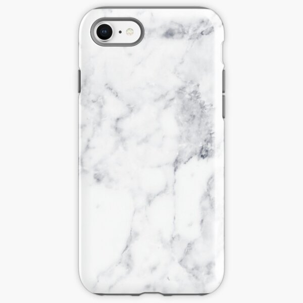 White Marble iPhone Tough Case