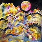 World Series C-5 Night Moon by ksgfineart