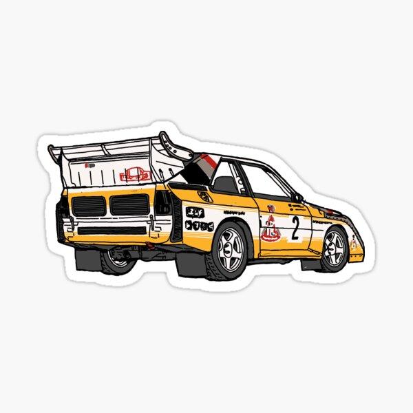 S1 Rally Car Sticker
