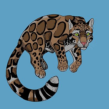 Clouded Leopard by fivemagpies