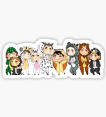 Pegatina Cruce Exo-Animal