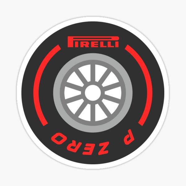 neumático blando F1 Pegatina
