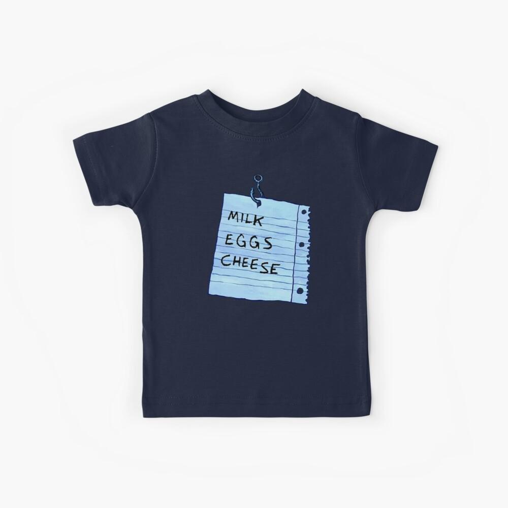 Lista de compras flotante - Bob esponja Camiseta para niños