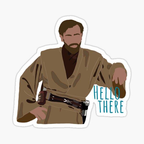 Obi-Wan Kenobi, Hello There Sticker