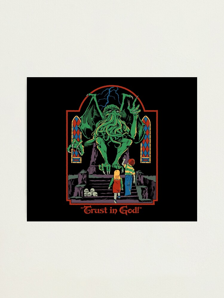 Alternate view of Trust in God Photographic Print