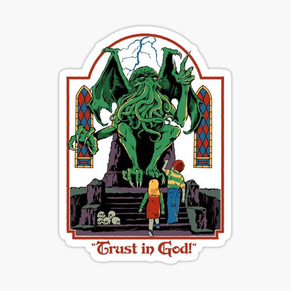 Trust in God Sticker