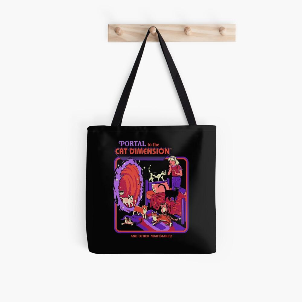The Cat Dimension Tote Bag