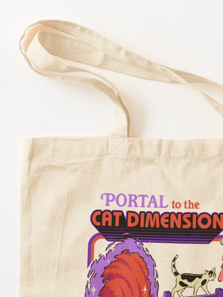 Alternate view of The Cat Dimension Tote Bag