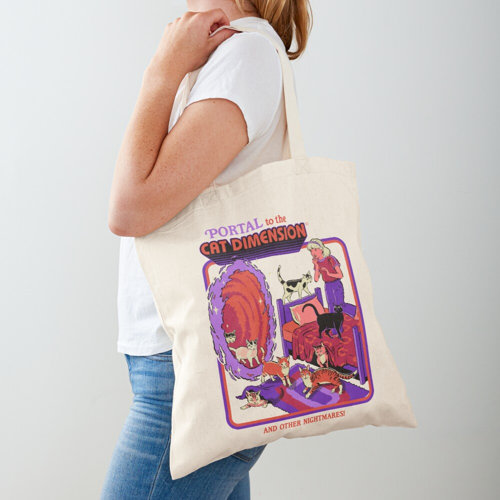 The Cat Dimension Tote Bag