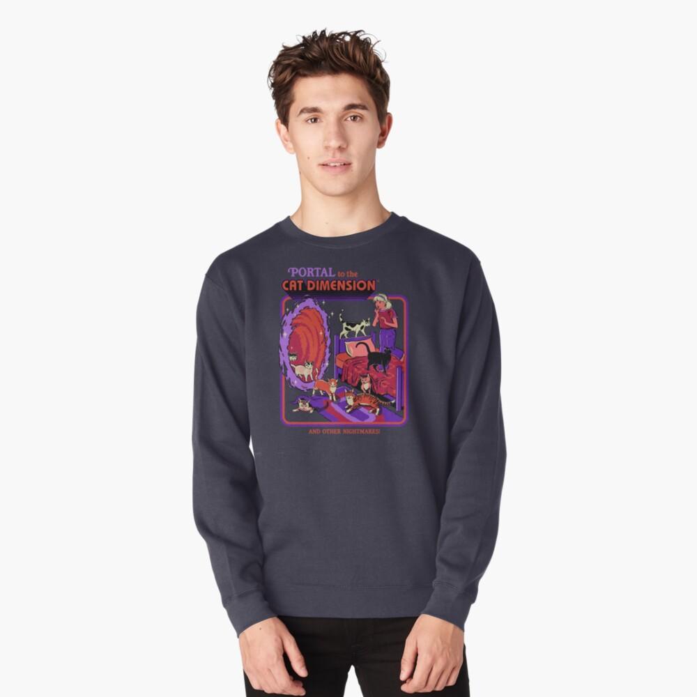 The Cat Dimension Pullover Sweatshirt