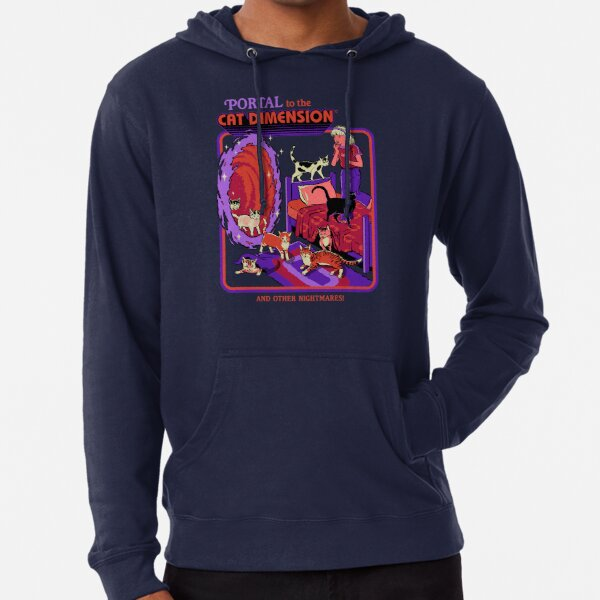 The Cat Dimension Lightweight Hoodie