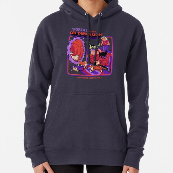 The Cat Dimension Pullover Hoodie