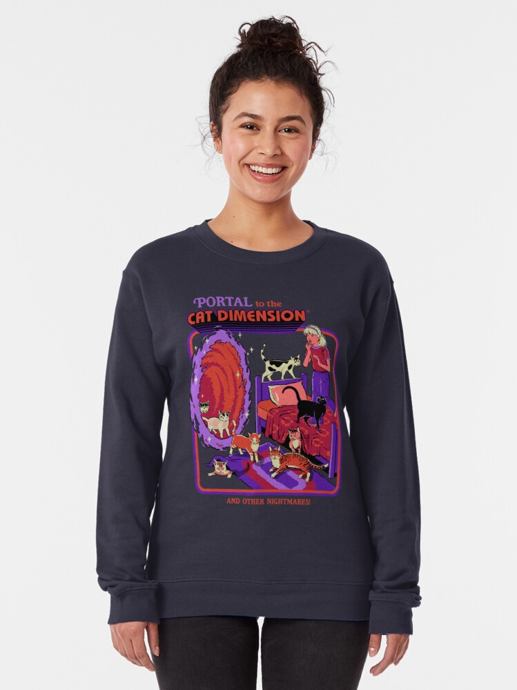 Alternate view of The Cat Dimension Pullover Sweatshirt