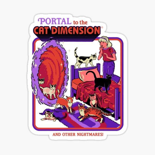 The Cat Dimension Sticker
