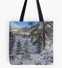 Winter Wonderland - Lake Tahoe Tote Bag