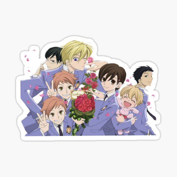 Ouran high school host club Sticker