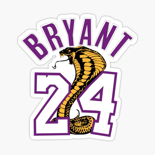 Bryant Black Mamba  Sticker